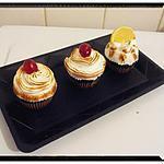 recette muffins citron-fraise meringué