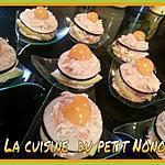 recette Mille feuilles  de radis noire et  pomme