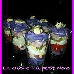 recette Piémontaise revisité en verrine pr l aperitif