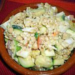 recette Blé en salade