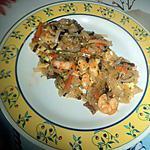 recette Phad thai au crevette