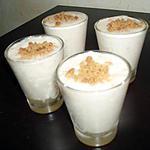 recette Verrines allégées de mousse au fromage blanc & spéculoos