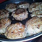 recette Galettes de viande haché au cheddar
