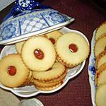 recette Sablés citronnés à la framboise