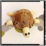 recette la tortue crêpe à la mousse choco