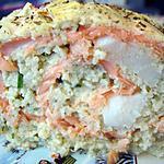 recette Terrine de cabillaud au saumon fumé et noix de Saint-Jacques - Minceur