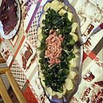recette salade de pommes de terre,mâche, lardons