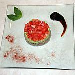 recette tartare de thon, avocat et tomates