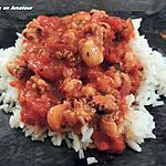 recette Calamars avec une sauce tomates