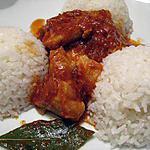 recette Riz aux cubes de poulet