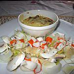 recette flan au surimi