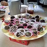 recette truffes au chocolat noir