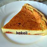 recette Tarte au chorizo et fromage frais ail et fines herbes