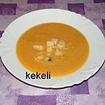 recette Velouté de potiron au morbier