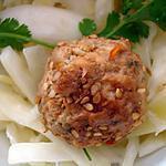 recette Bouchées de dinde saveurs asiatiques à la vapeur - Minceur - Trop facile