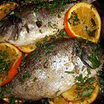 recette Daurade royale aux oranges