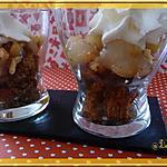 recette Verrine pain d'épices et poires
