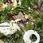 recette Salade de mâche composée