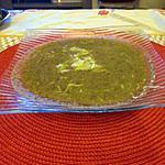 recette potage champignons, céléri,  aux ravioles