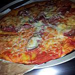 recette Pizza au jambon cru mozzarella