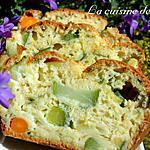 recette Un cake aux trois légumes