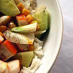recette Salade de riz au surimi