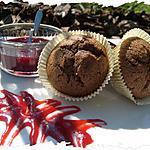 recette Ooo Muffins Chocolat / Framboises et leur caramel ... ooO