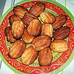 recette Madeleines aux blancs d'oeuf