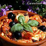 recette Brochet à la provençale