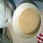 recette soupe de châtaignes au foie gras