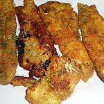recette Filets de tacaud panés au romarin