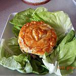 recette Minis tourtes aux  PdeT poulet fromage