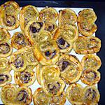 recette Palmiers apéro bi-goût