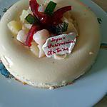 recette La couronne exotique de Choupette Two version festive