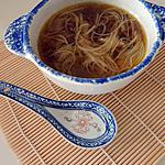 recette Soupe asiatique (ramen)