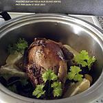 recette PIGONS AUX DATTES ET OLIVES VERTES