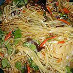 recette Soupe chinoise au porc et nouilles de riz