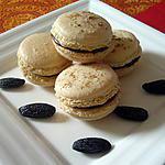 recette Macarons Chocolat et Fève Tonka