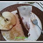 recette Gâteau au chocolat farci de confiture pomme cuite au four