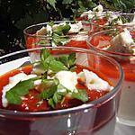 recette Panna cotta salée au chou-fleur et gorgonzola
