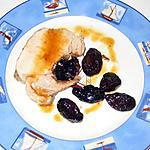 recette Rôti de porc aux pruneaux