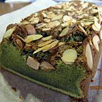 recette Gâteau au chocolat blanc et au the vert
