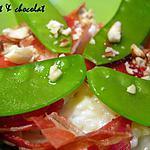 recette RISOTTO crémeux légèrement fromagé avec ces pétales de Serrano grillées & noisettes concassées