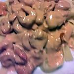 recette pâtes aux grosses crevettes