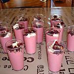 recette verrines de crème de betterave au yaourt