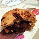 recette ~ Muffins au chocolat au lait et Gianduja ~