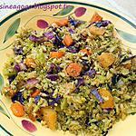 recette Pôélée de riz aux légumes d'hiver