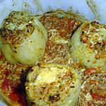 recette Poivrons farçis