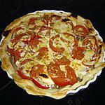 recette Tarte à la viande et tomates