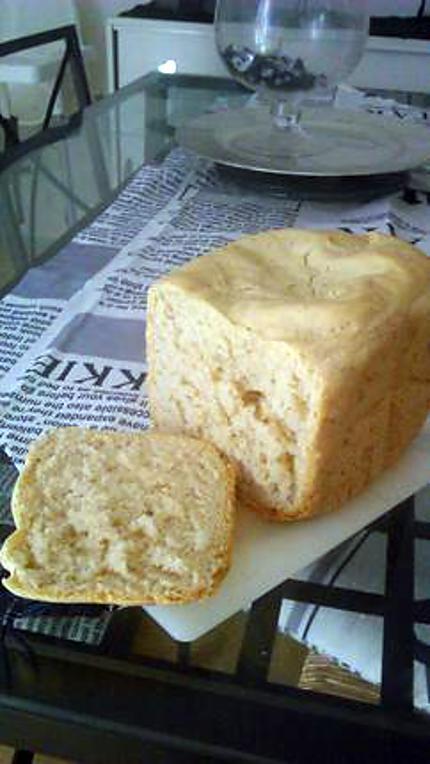 Recette de pain de mie machine a pain recette de melayers par notre amour de cuisine - Pain de mie machine a pain ...